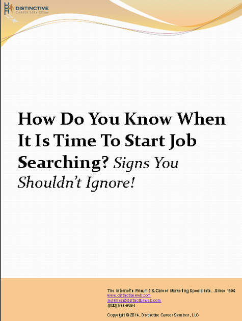 How to time your #jobsearch? Download this PDF to learn signs you shouldn't ignore.