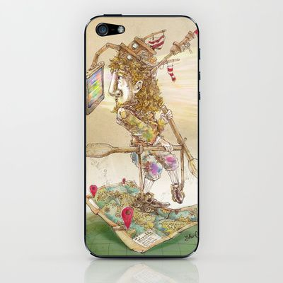 EXPLORER iPhone & iPod Skin by Chao-Yi Chung - $15.00