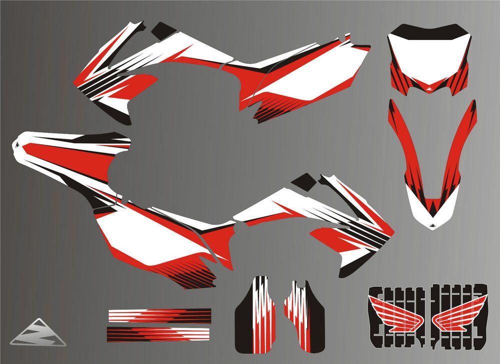 Honda CRF Stickersrace Stickers Decalshelmet Decal - Motorcycle helmet decals and stickers