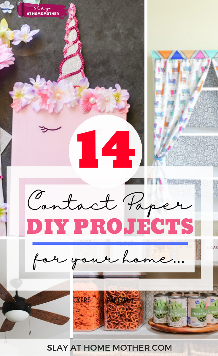14 Contact Paper Diy Projects That Can Refresh Your Space Diy