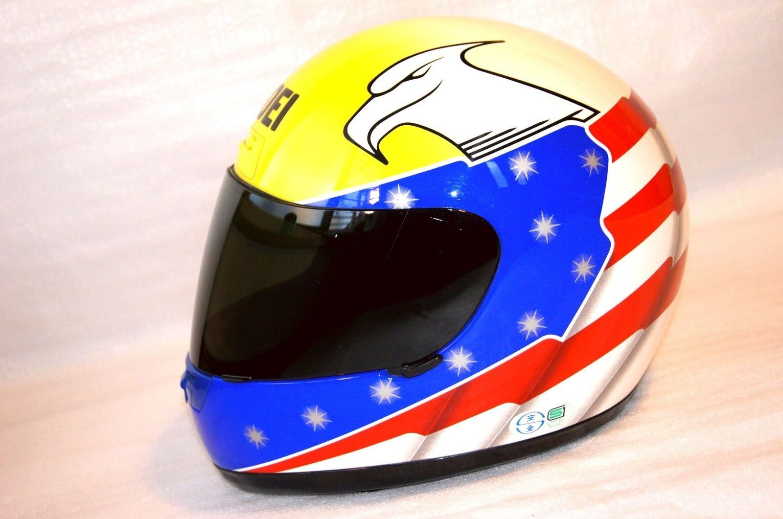 Details About Shoei Racing Helmet X 8 John Kocinski Replica