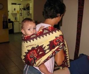 How to Carry Your Baby African Style #africanstyleclothing