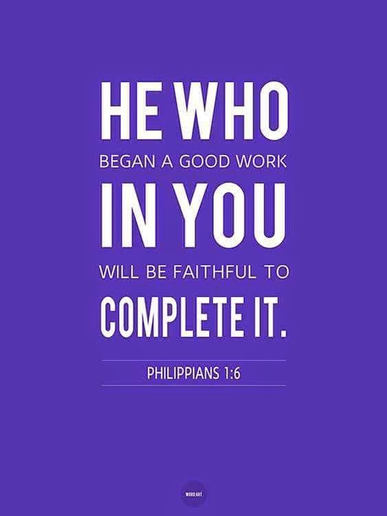 Work On Me Lord......Philippians 1:6....Food For The Soul....Evan ...