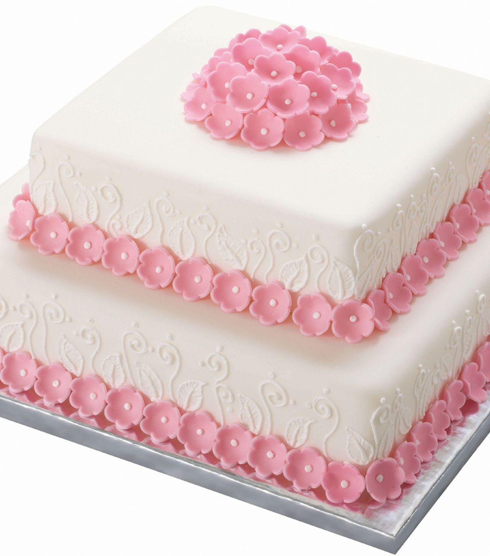 Wilton Silver Cake Platters In