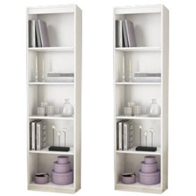 Home In 2020 Shelves White Office Furniture Bookcase