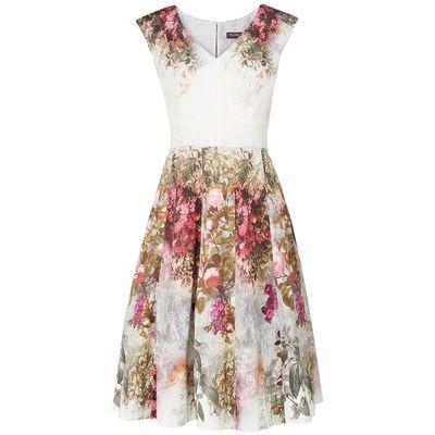 Kleid mit Blumenmuster | Cocktailkleider und Co. | Pinterest | Shopping