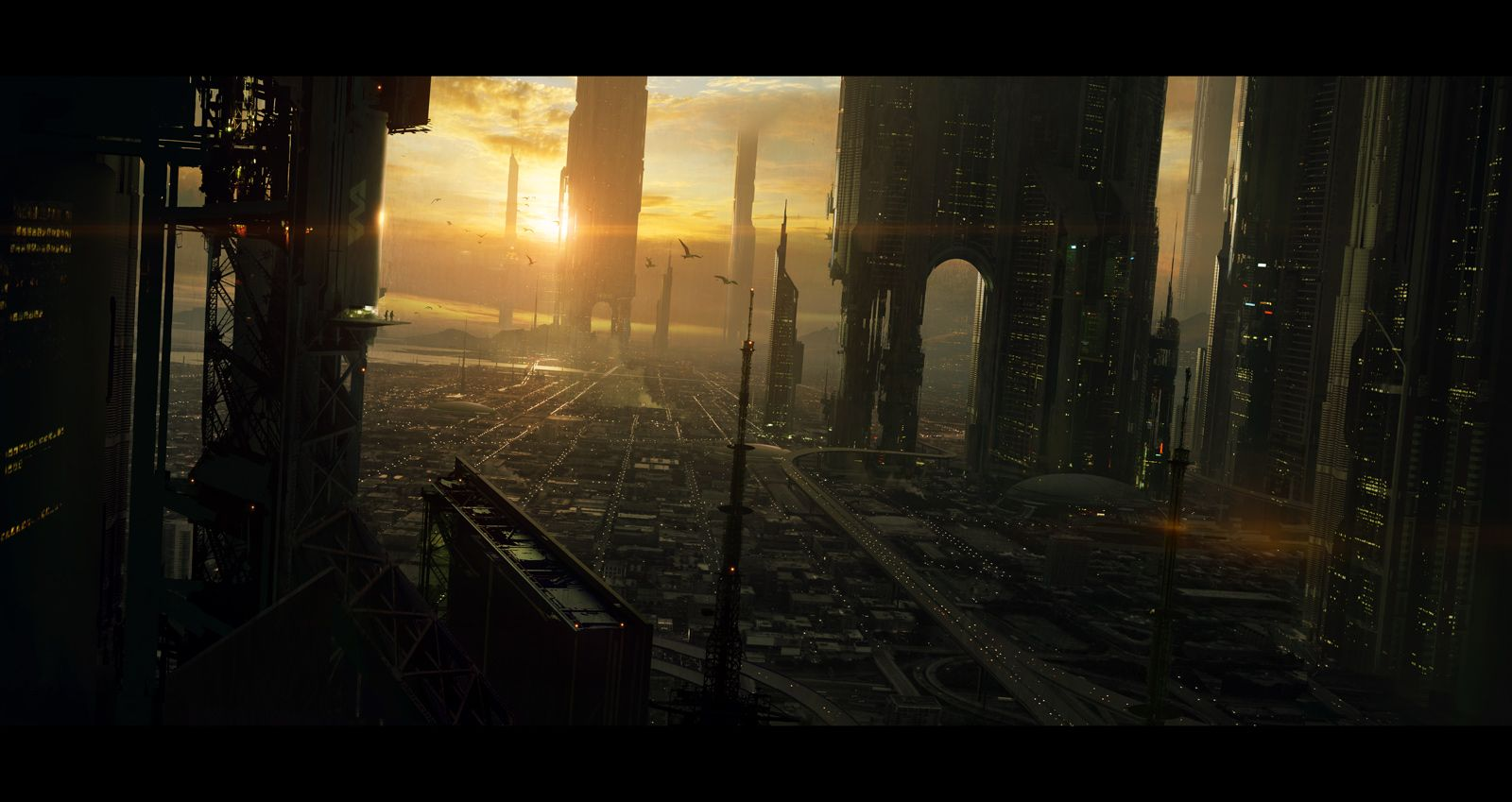 Los Angeles 2100 by *AndreeWallin, Future City, Cyberpunk ...