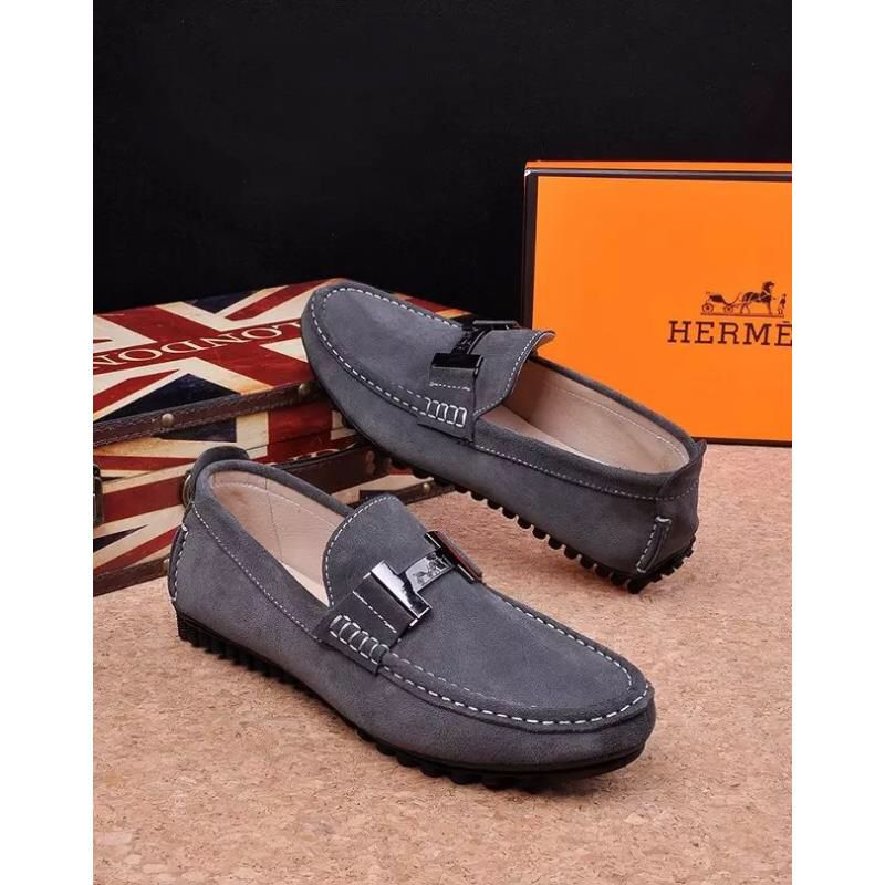 a9a1560412d Replica Hermes Men s Classic Fashion On The Go Driving Casual Loafers Boat  Shoes