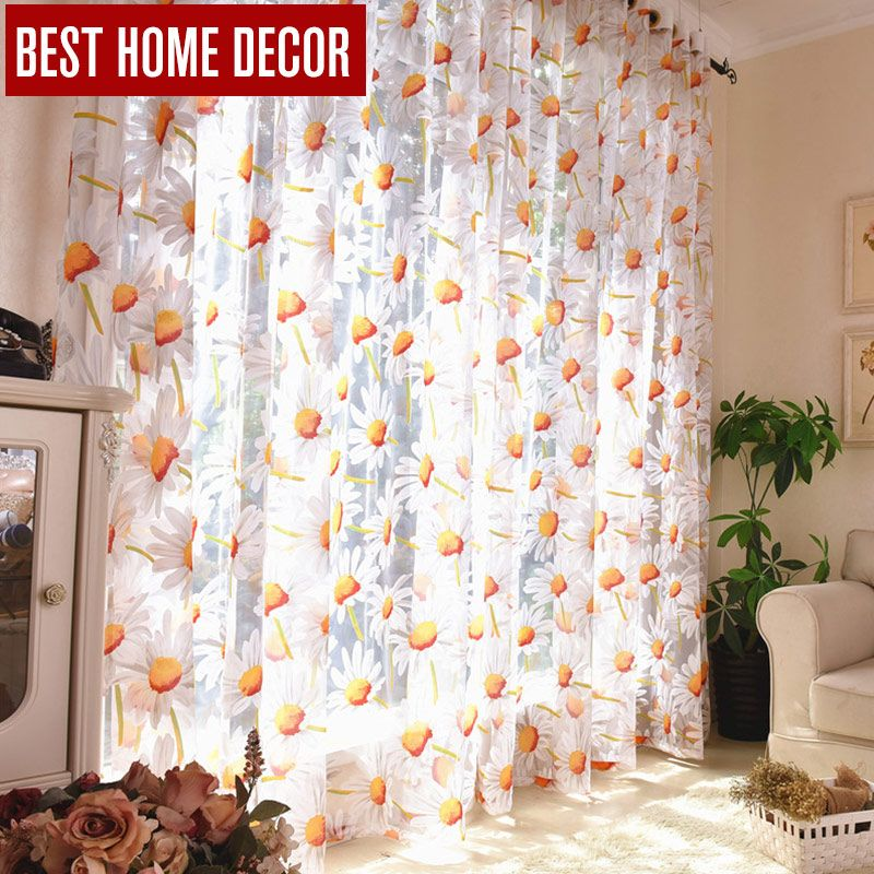 Best home decor vorhänge sheer fenster vorhänge für wohnzimmer das - moderne wohnzimmer vorhange