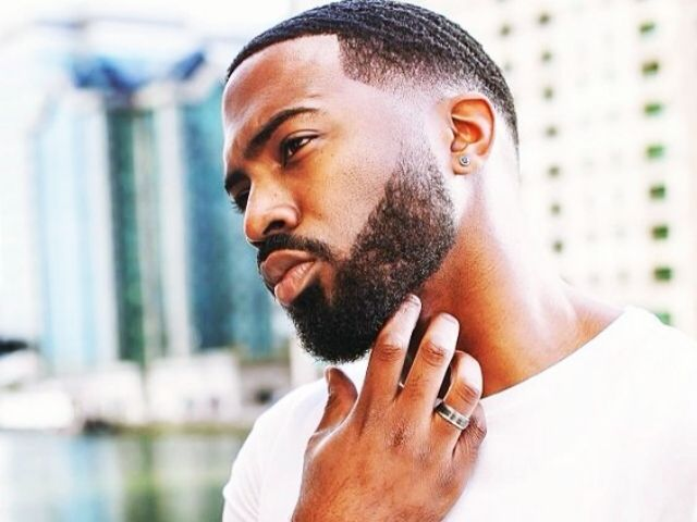 40 Black Men Beard Styles  Live Long the Beard Beardoxide! is part of Clothes Mens Beards - Black Men have naturally smart personality and these Black Men Beard Styles makes them smarter  When you have beards, you have the most glamorous lady