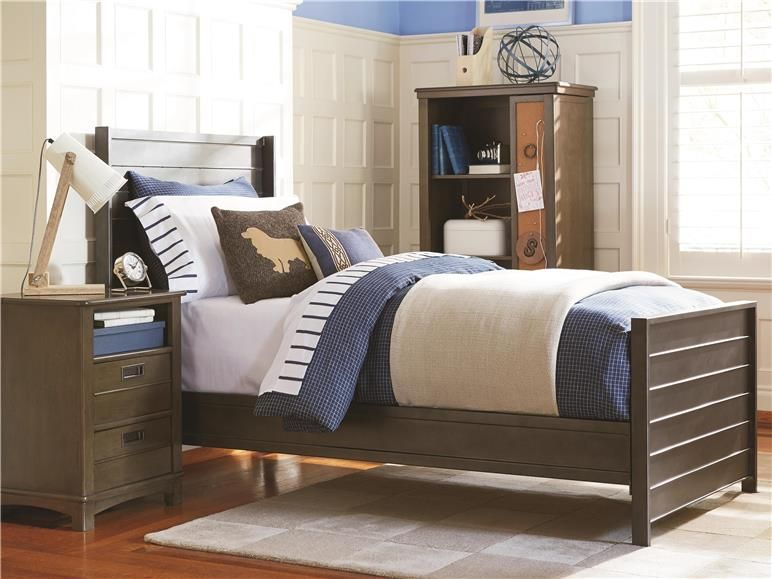 Elegant Buy Your Letterman Panel Bed By SmartStuff (Universal Furniture) Here. This  Sleek Furniture Collection Features A Soph