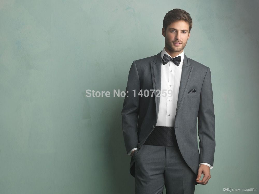 The new marriage gauze custom style the groom dress suit | CHESTI DE ...