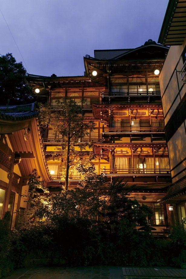 まるでアニメの世界 開湯1300年の渋温泉への画像 Walkerplus ライフスタイル Antenna 有名な建築 温泉 建築写真