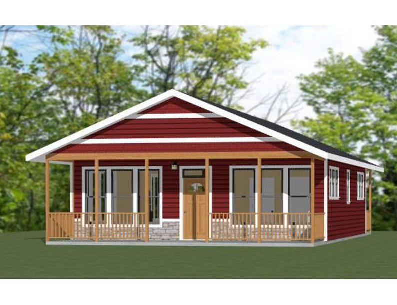 28x36 House 2Bedroom 2Bath 1,008 sq ft PDF