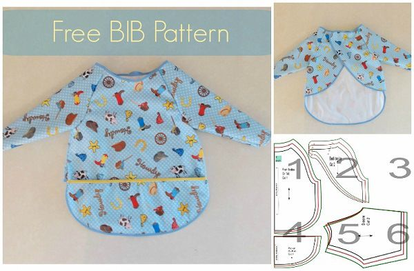Tutorial: Full coverage vinyl bib for older babies and toddlers ...