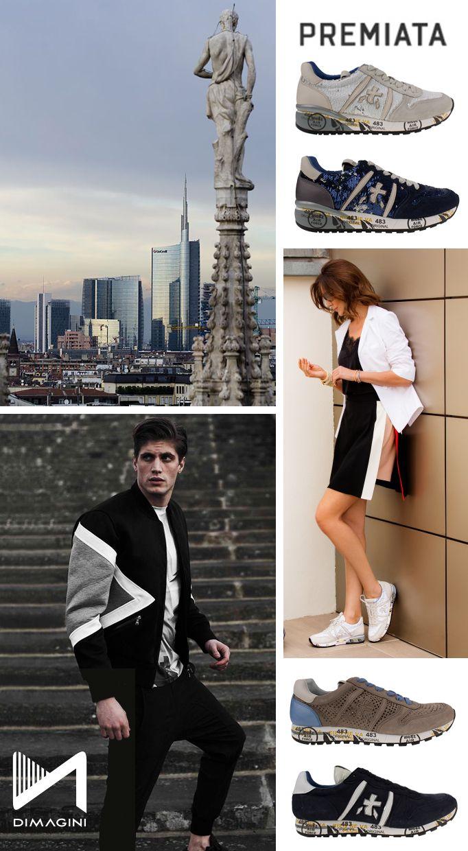 Premiata sneakers zijn vervaardigd van hoogwaardige materialen en voorzien van een prachtig Italiaans, high end design. Shop now!  https://dimagini.nl/premiata/