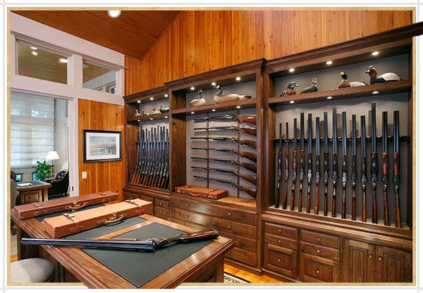 Home gun room design home design and style for Home gun room