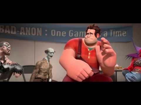 Wreck It Ralph - Official Trailer [HD] Homework assignment ... Wreck It Ralph Trailer Toy Story