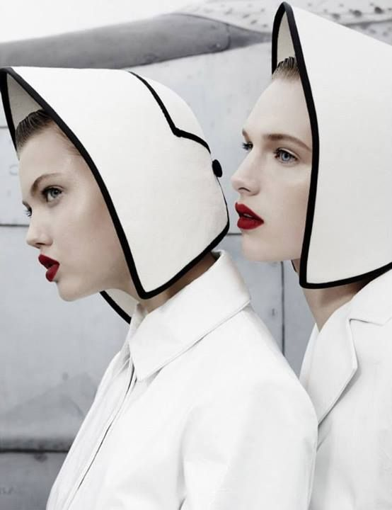 Red Lips | W magazine November 2013 Photographer: Emma Summerton