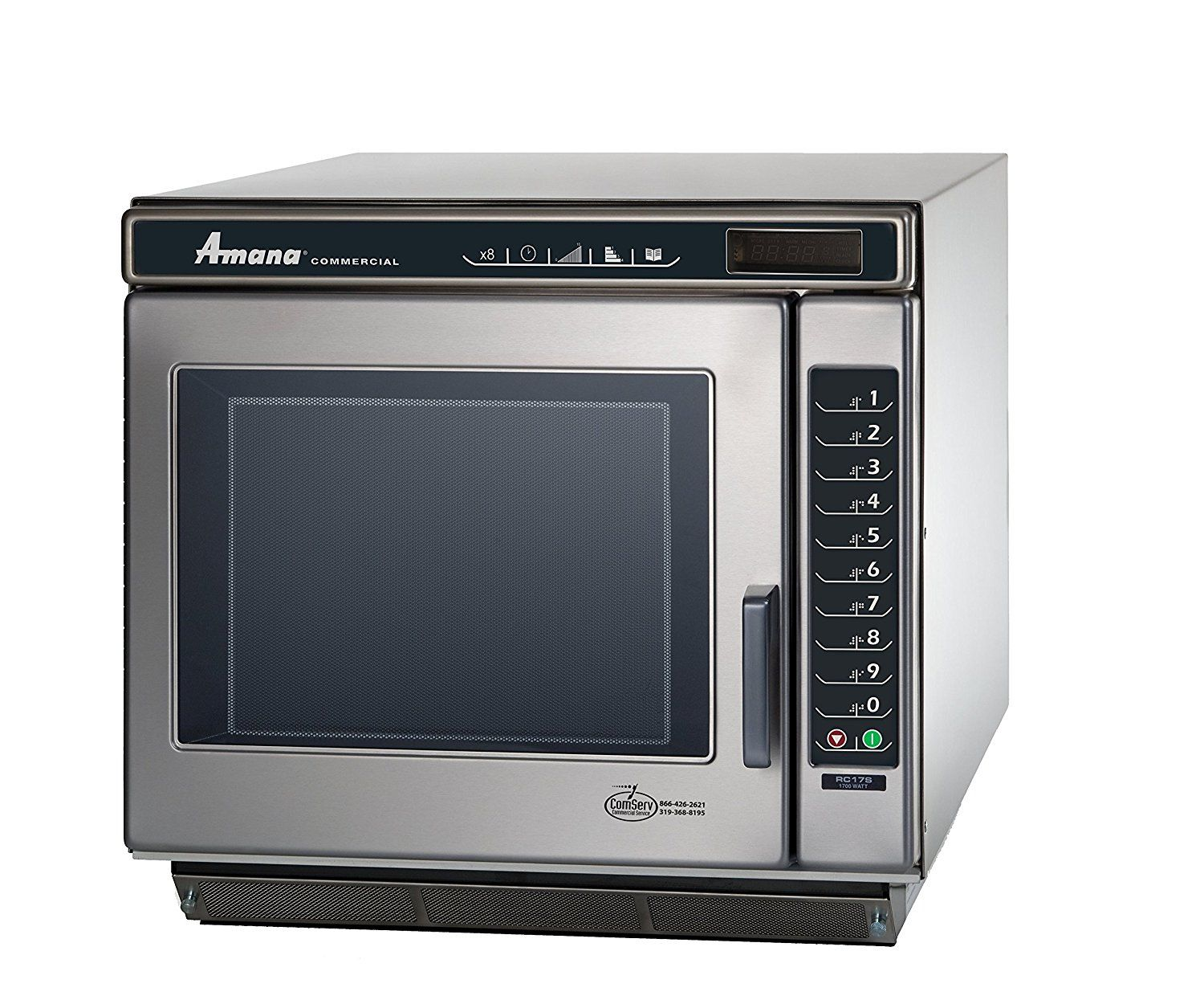 Hot Products Amana Commercial Rc17s2 Amana Rc Chef Line Commercial Microwave Oven 1700w People Searching For Products Services Not Only Practical And Economica