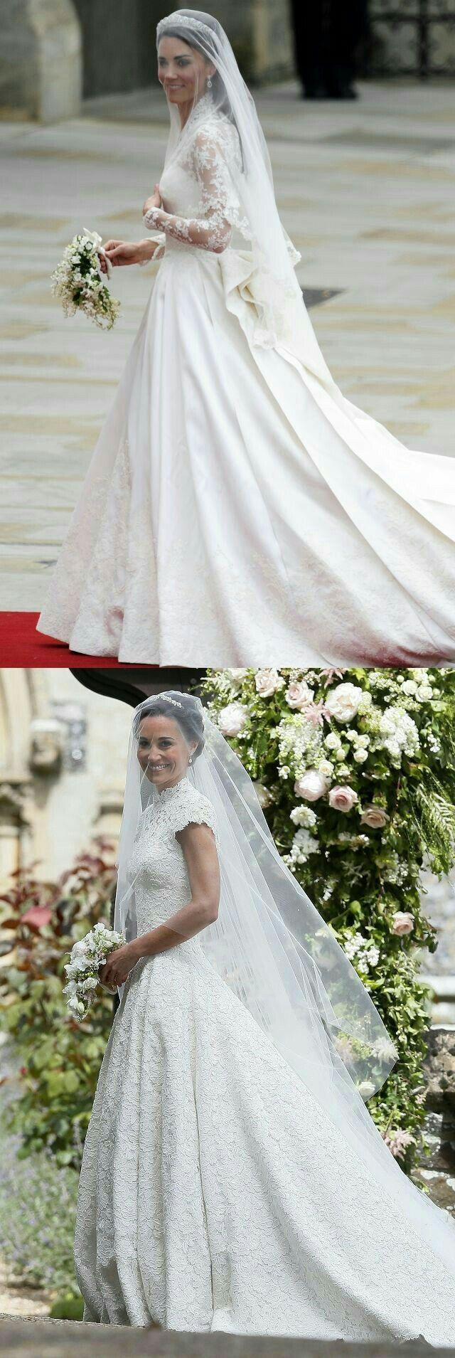 Famous wedding dresses  Pin by Damaris de León Ruiz on William u Kate  Pinterest  William kate