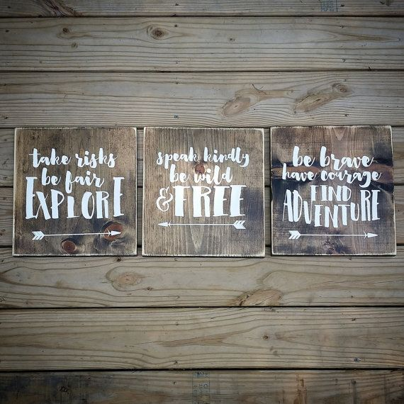 Be Brave Have Courage Baby Shower Gift Woodland Nursery