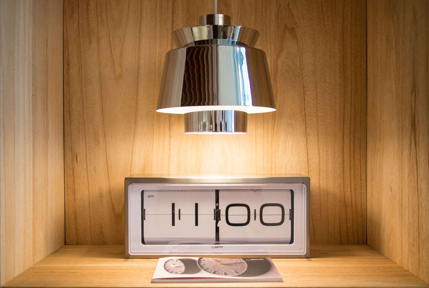 Exceptional Brick   Design Flip Clock Designed By Erwin Termaat For LEFF Amsterdam Design Inspirations