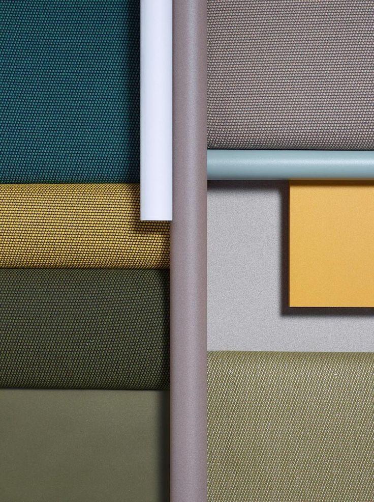 Terrain di kettal tessuti outdoor naturalmente belli for Mobili colorati design