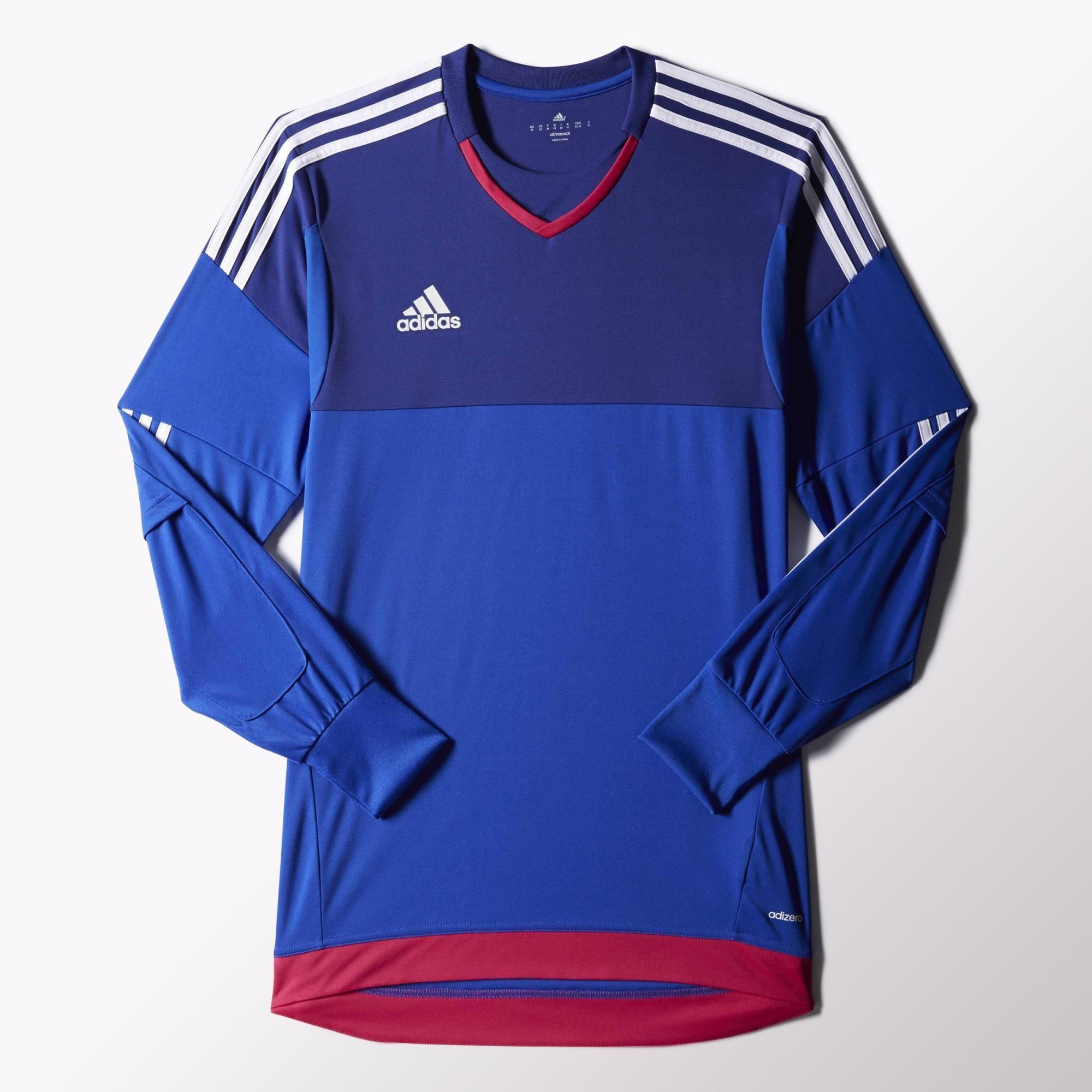 73c97c7c532 adidas Top 15 Goalkeeper Jersey - Blue | adidas US | Cool goalkeeper ...