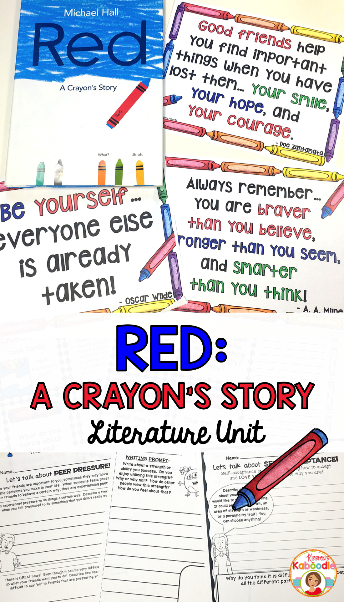 Red A Crayon S Story