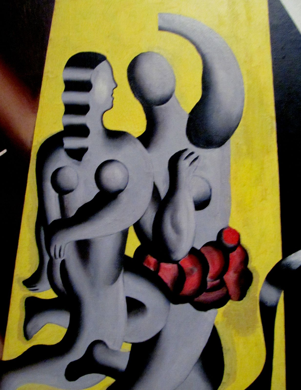 Fernand Léger | (detail) Composition aux Sujets, 1930. Oil on canvas (1881-1955) LACMA
