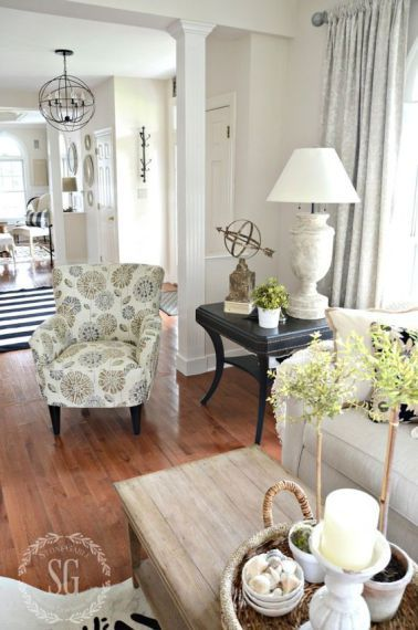 comfy rustic farmhouse living room design idea also french country rh pinterest
