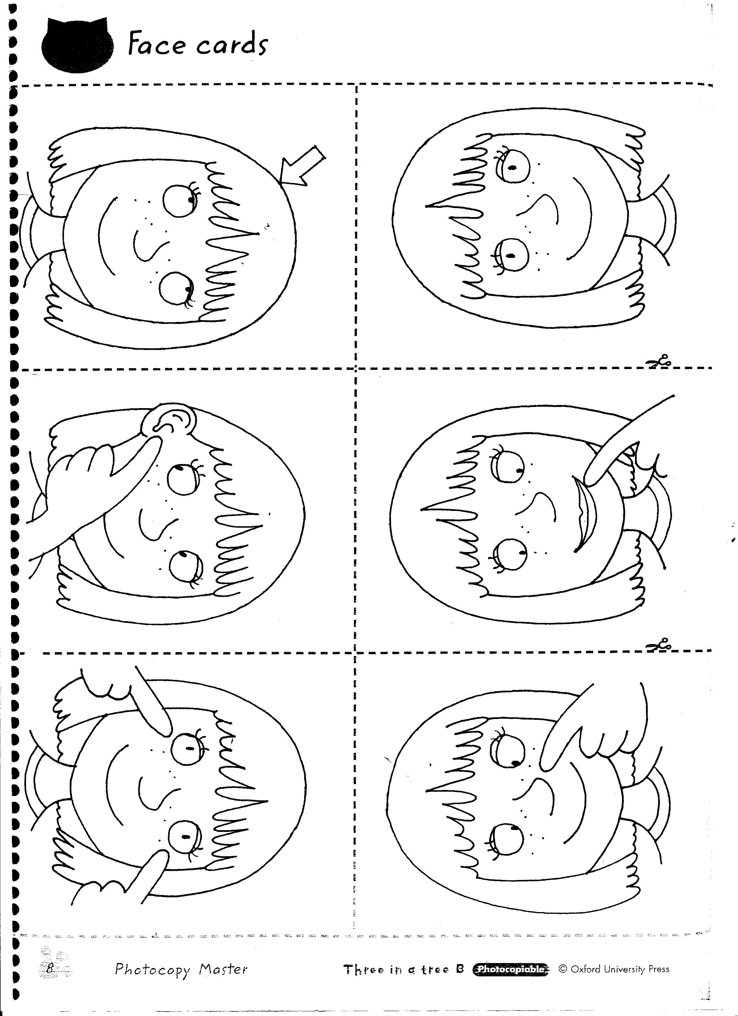 Worksheets Body Parts In Spanish Worksheet head and shoulders knees toes worksheet iskanje google n1a face body parts worksheets