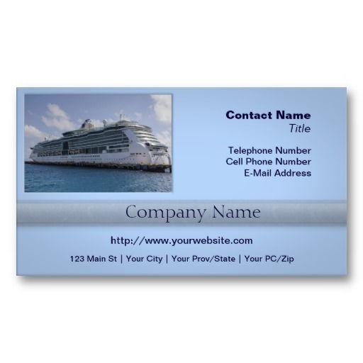 Tropical Cruise Ship Business Card Zazzle Com Tropical Cruise Cruise Ship Cruise