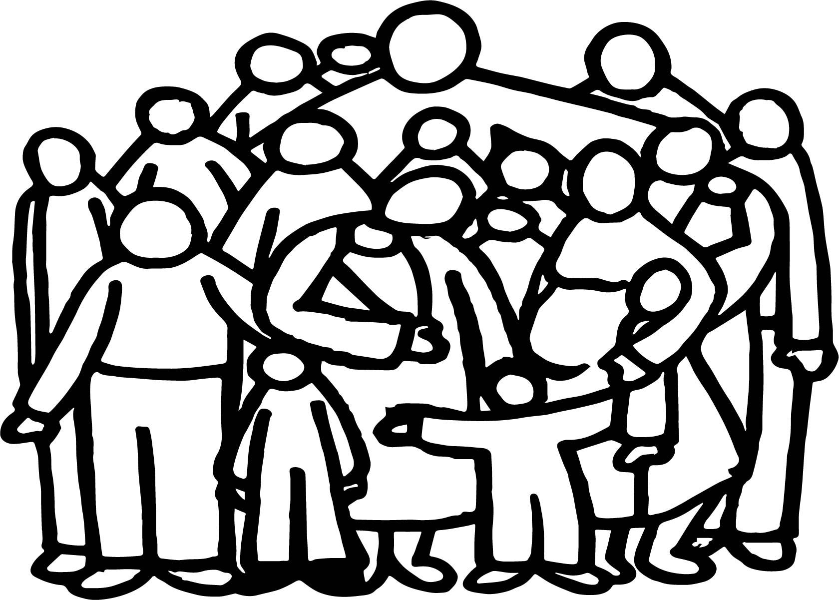 Nice Church Family People Outline Coloring Page People Coloring Pages Coloring Pages Sunday School Coloring Pages