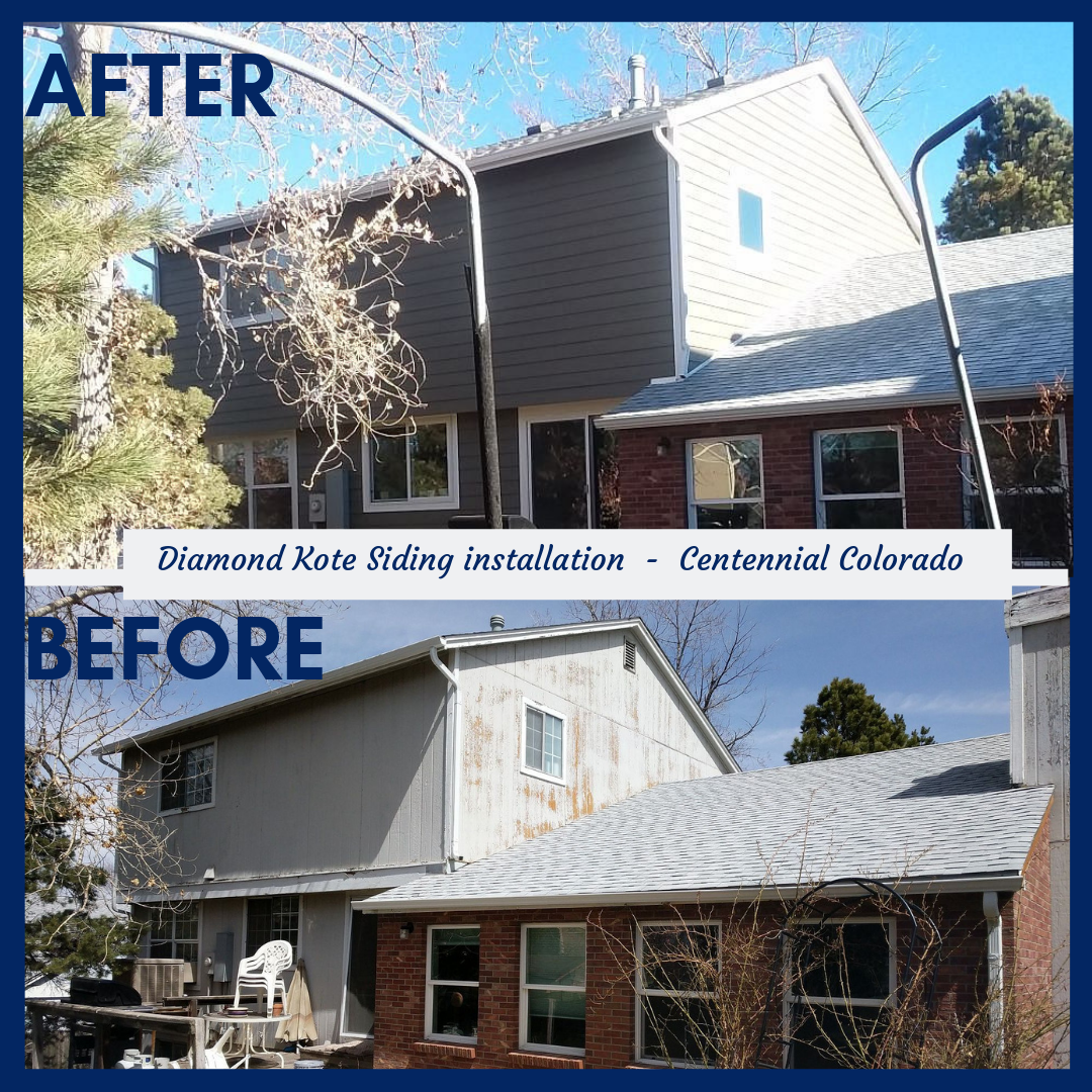 Diamond Kote Siding Installation Done By Z Double B Inc