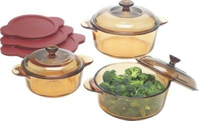 visions cookware set of 9 pieces from the vermont country store black friday cyber monday. Black Bedroom Furniture Sets. Home Design Ideas
