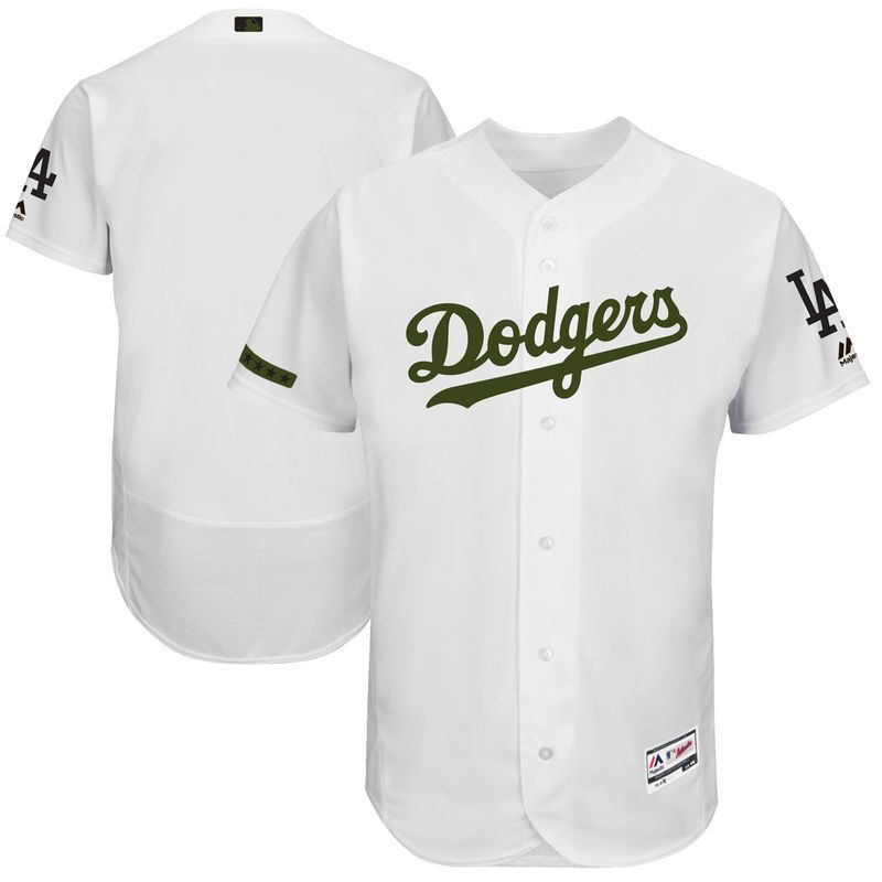 Los Angeles Dodgers Majestic 2018 Memorial Day Authentic Collection Flex  Base Team Jersey - White Los d5ed3edbe7b