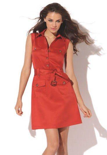 5f64926c9 Vestido camisero naranja - Vestidos camiseros - El color naranja