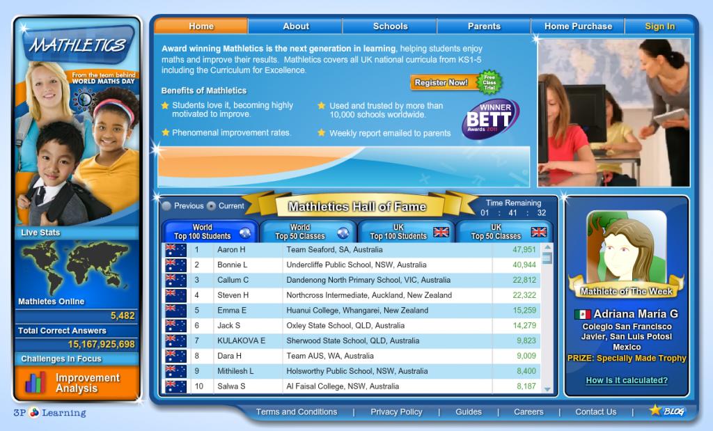 mathletics -http://www.mathletics.eu/ | Online Math games and ...
