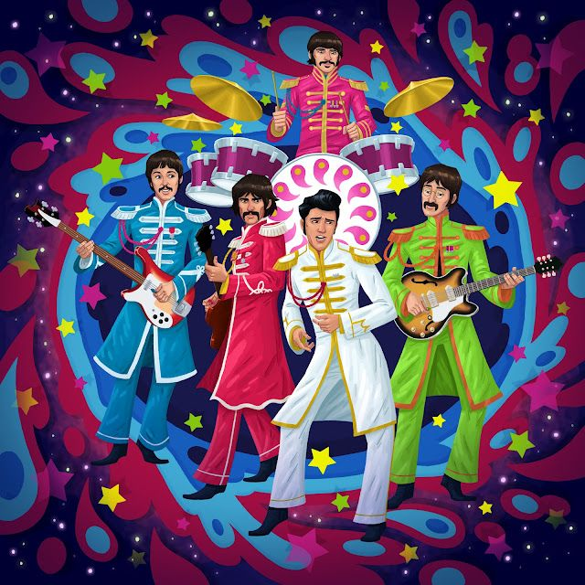 Bildresultat för Elvis Presley Sgt Pepper