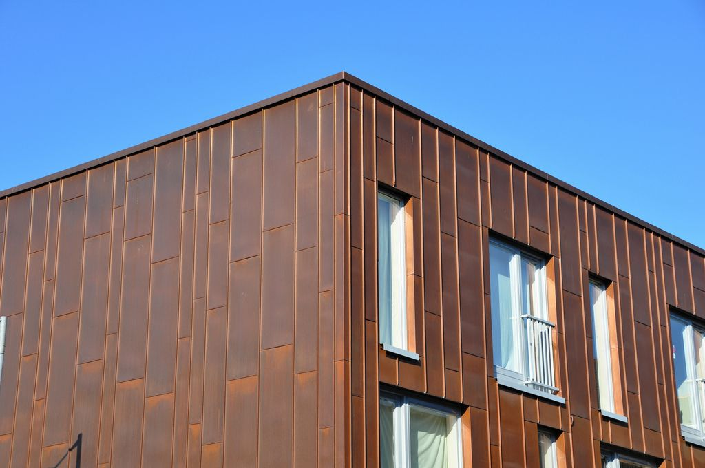 Claredale Street Bethnal Green London E2 Cinema Ideas Cladding Panels Zinc Roof Zinc