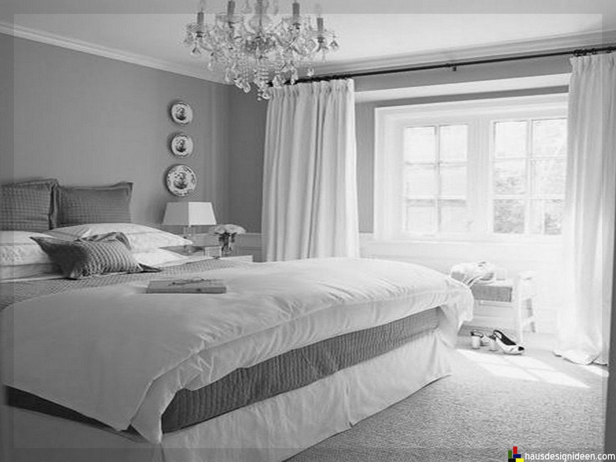 Schlafzimmer Ideen grau weiß-011 | Domek | Pinterest | Bedrooms ...