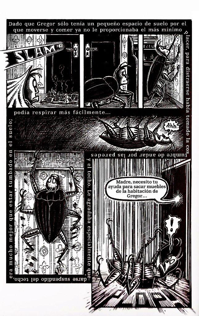 La Metamorfosis Franz Kafka Peter Kuper Alienaci N En