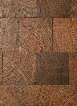Block End Grain Wood Flooring Intricate Sometimes