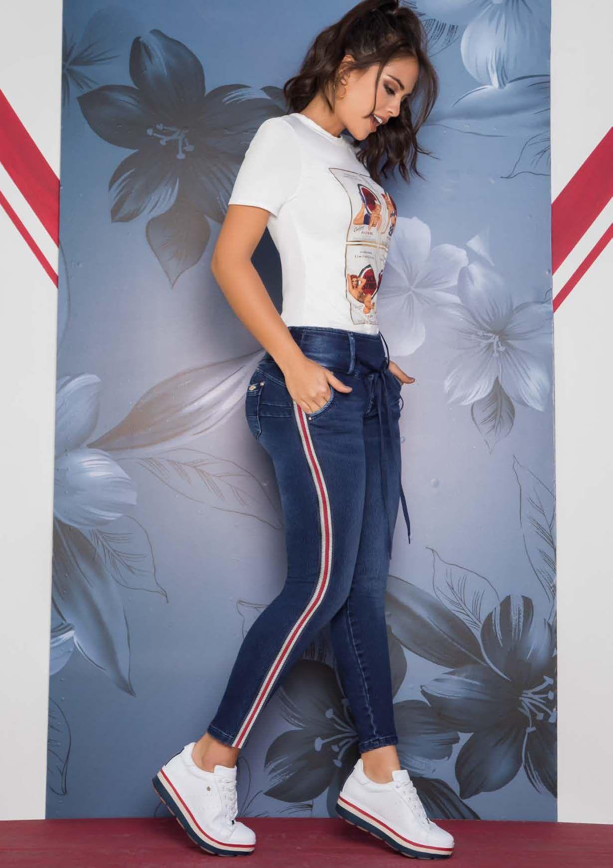 4ed6512ee Jeans dama 100% indigos originales hecho en Colombia