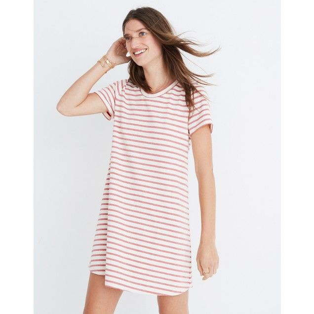 Striped Retreat Dress : shopmadewell casual dresses | Madewell