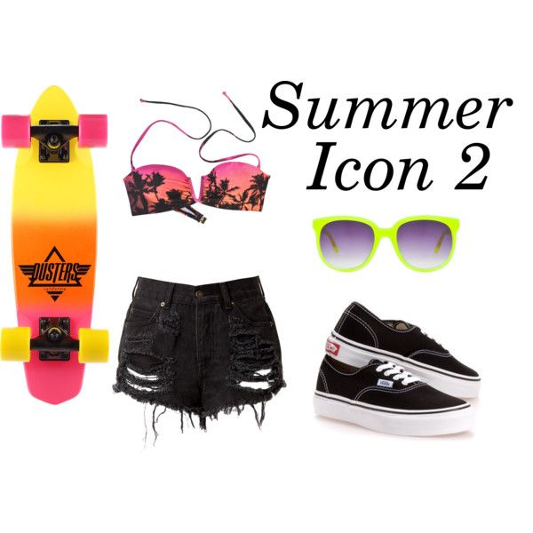 Summer Icon 2 by kandyzz on Polyvore