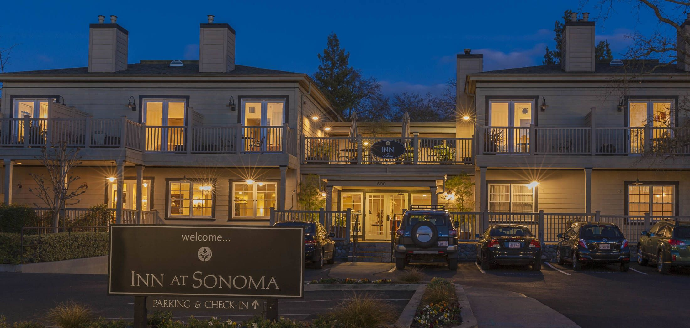Exterior of Inn at Sonoma (With images) Sonoma hotels