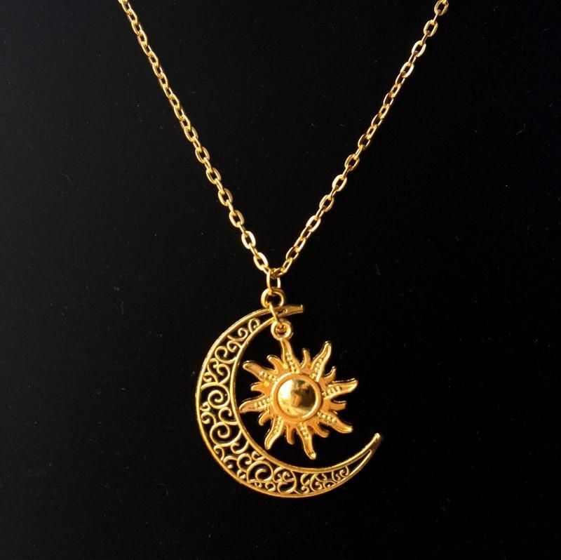 "Dragon Pendant Gold Plated with 18/"" Gold Plated Chain 1/"" x 1.6/"""